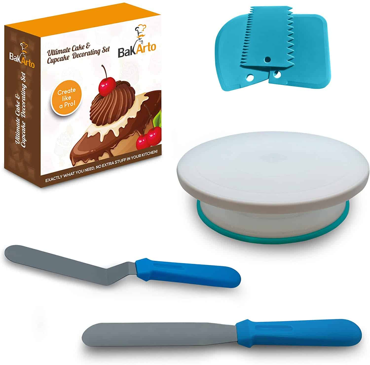 All in one cake decorating kit