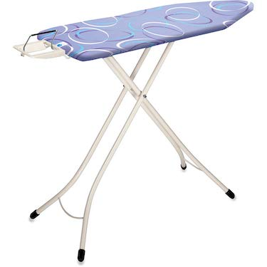 Brabantia ironing board with solid steam iron resta