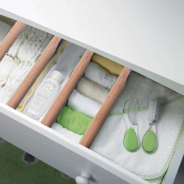 Cosyhome bamboo drawer divider