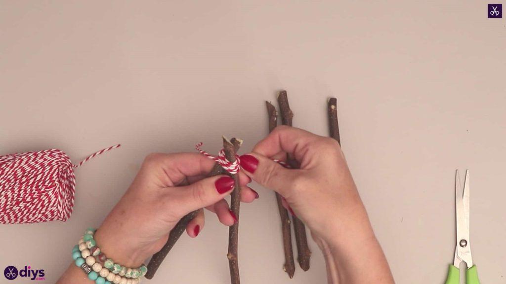 Diy twig star craft merge two