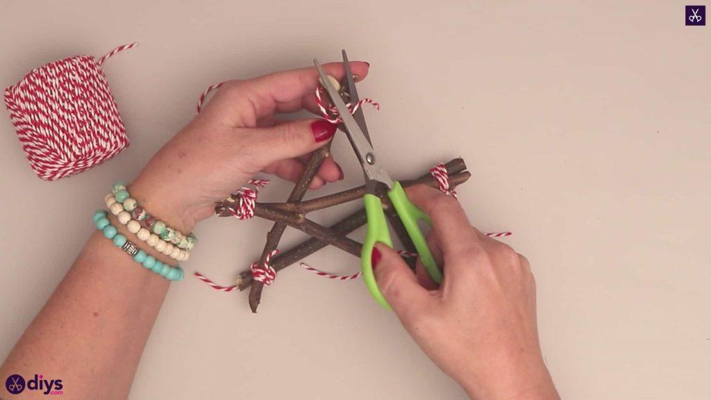 Diy twig star craft step 6b