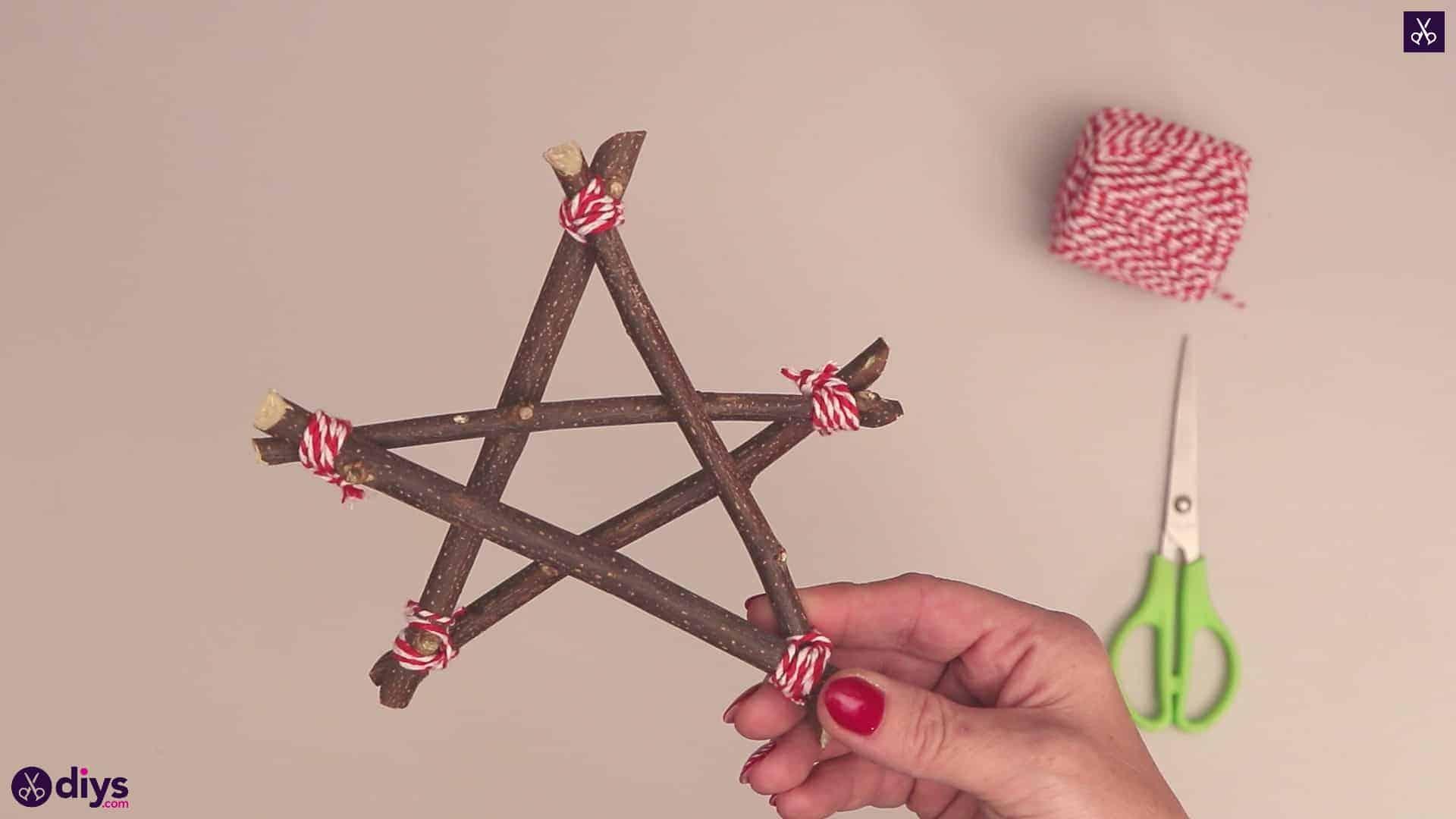 Diy twig star craft
