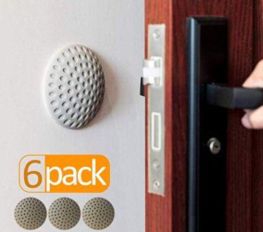 Door handle wall protector