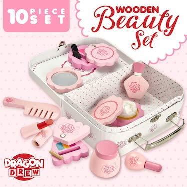 Dragon drew wooden toy beauty set