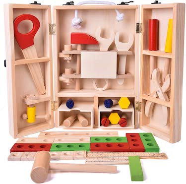 Fun little toys wooden construction set