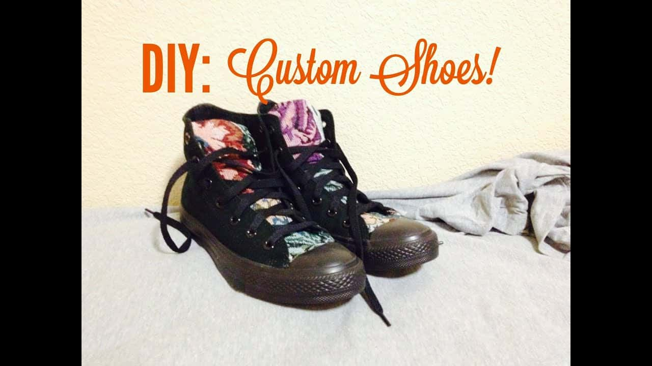 Fabric customized high tops