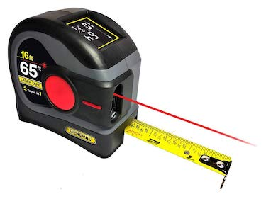 General tools ltm2x laser tape measure 2 in 1