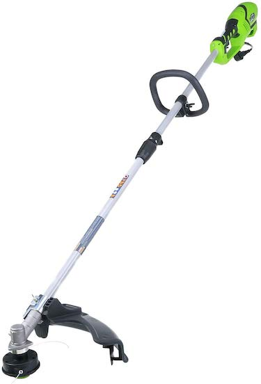 Greenworks 18 inch 10 amp corded string trimmer (attachment capable) 21142