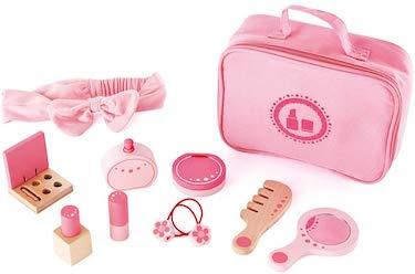 Hape wooden cosmetics pretend play kit