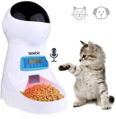 Iseebix automatic cat feeder