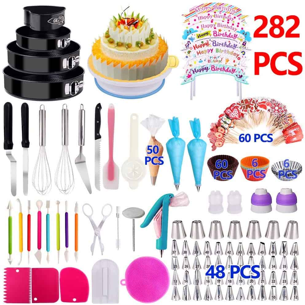 Kosbon 282 piece cake decorating set