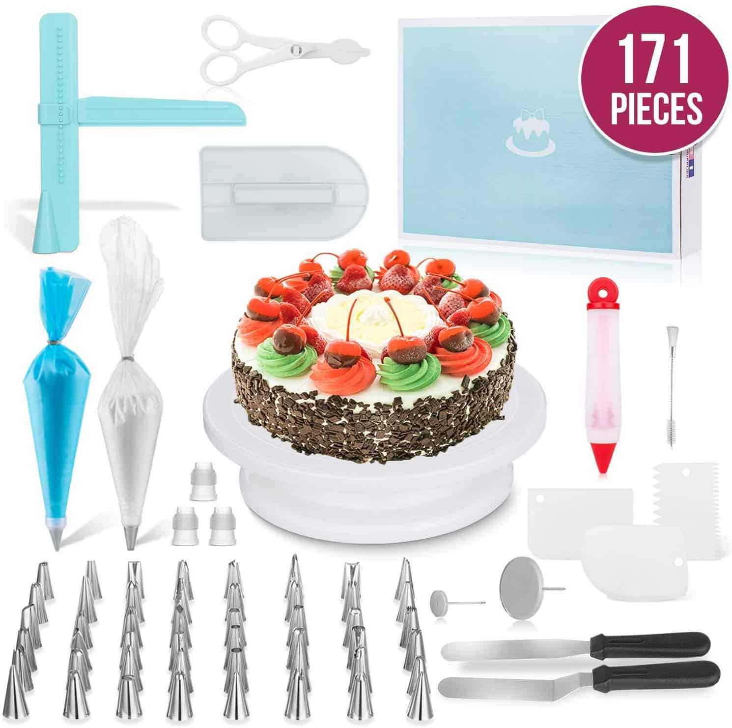 Merri 171 piece cake decorating kit
