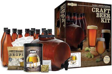 Mr beer 2 gallon complete starter beer making kit