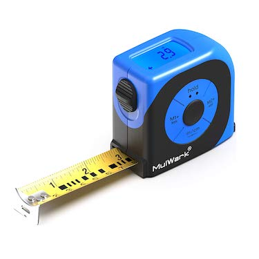 Mulwark 16ft digital tape measure