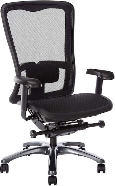 Office star high back with breathable progrid back and seat