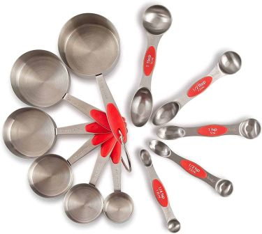 Pz prep smart measuring cups & spoons