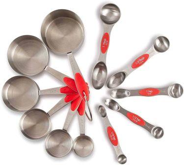 Pz prep smart measuring cups & spoons