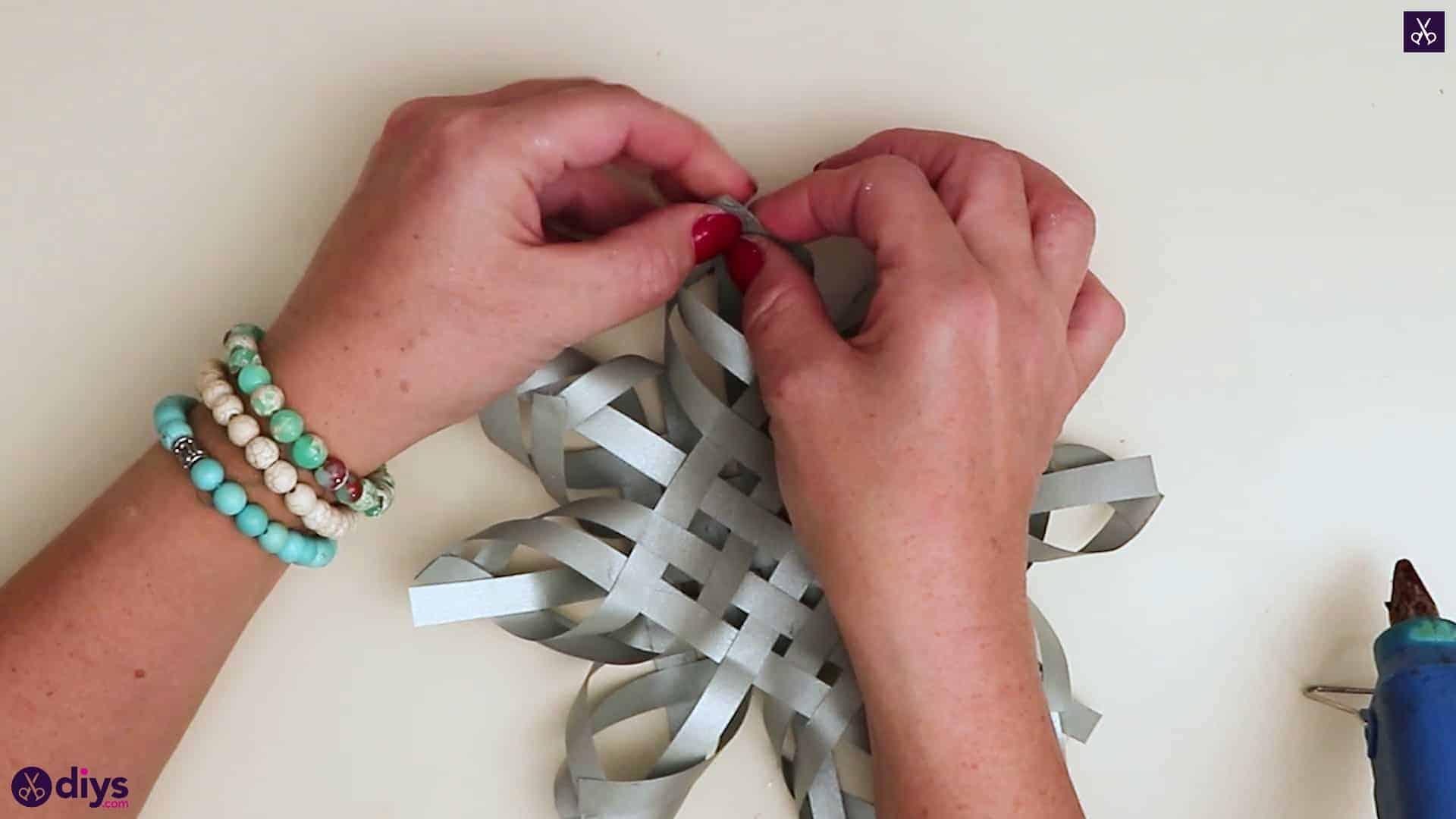 Paper star ornament format care top