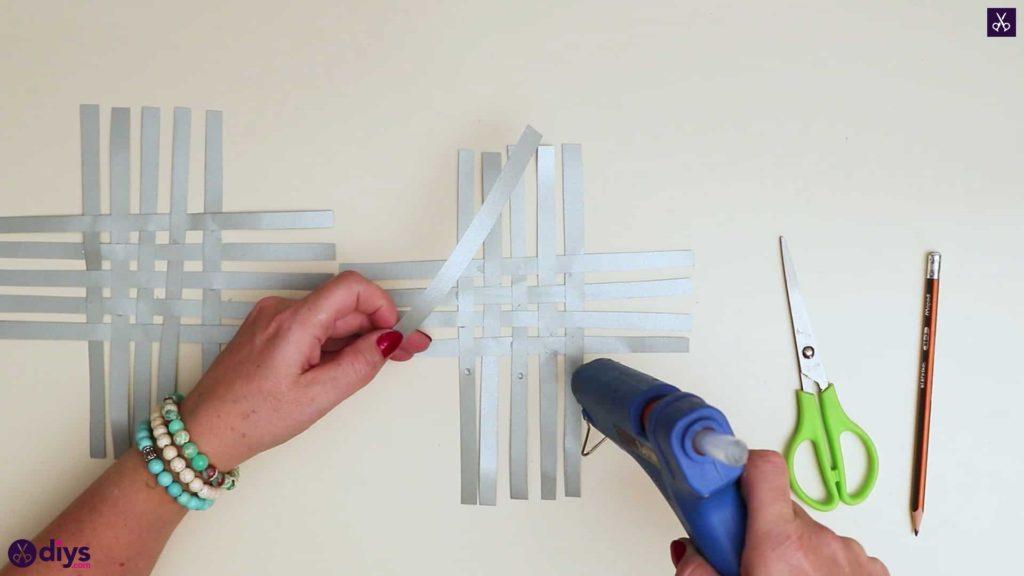Paper star ornament tops