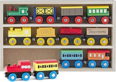 Play22 wooden train set