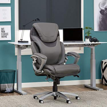 Serta air health and wellness executive office chair