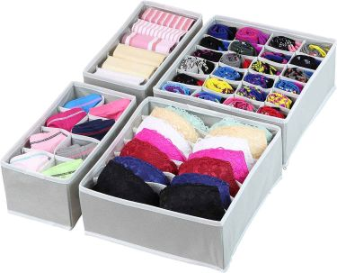 Simple houseware underwear drawer organizer