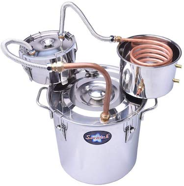 Suteck 3 gal moonshine still spirits kit