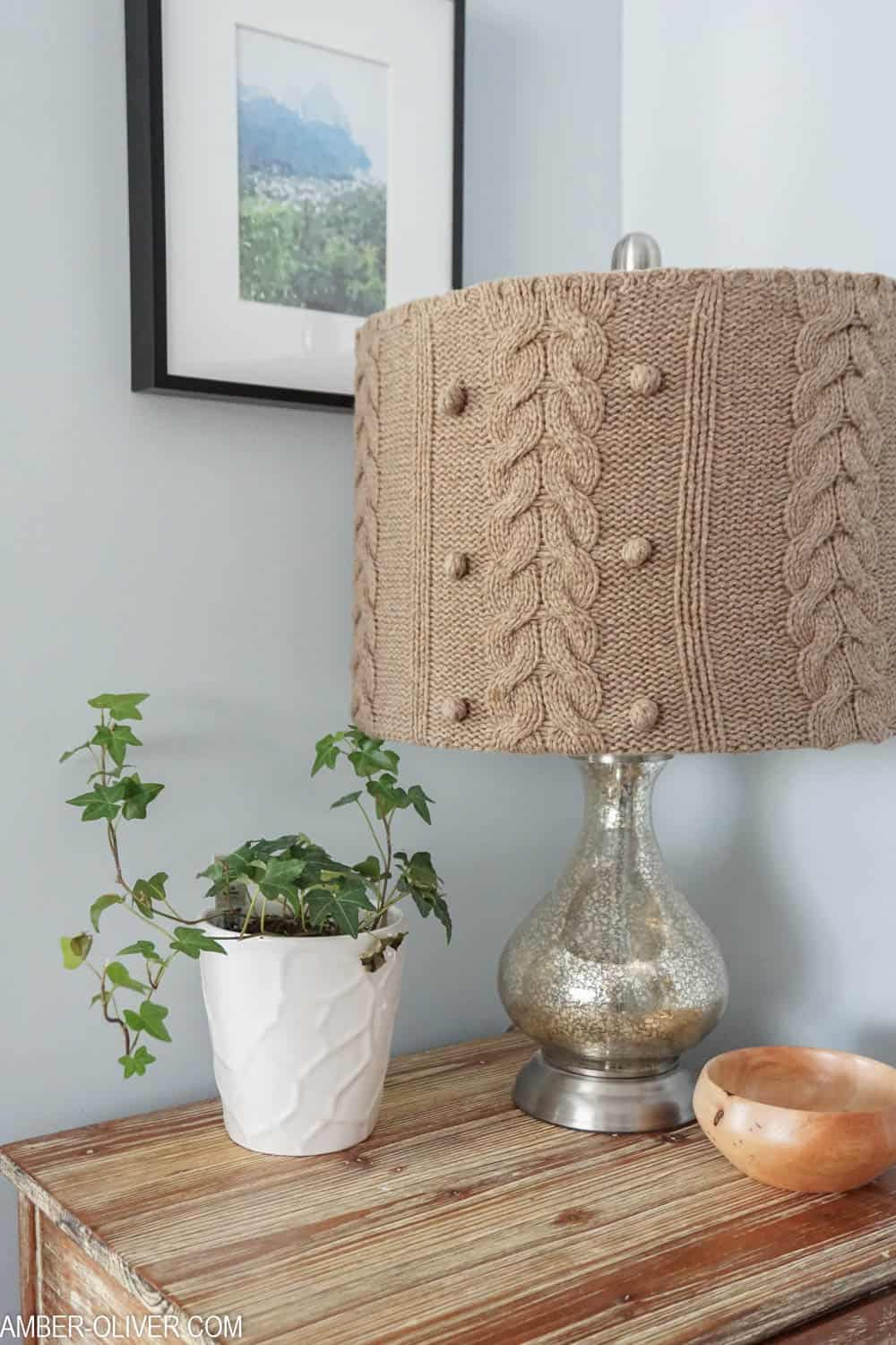 Sweater to cute lampshade