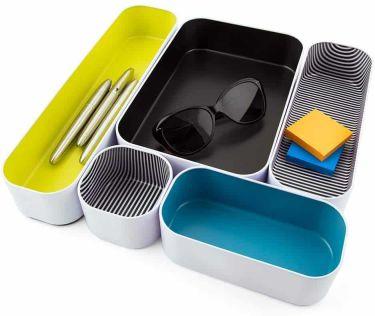 Three by three seattle drawer organizer