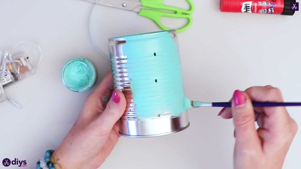 Tin can mood lamp color