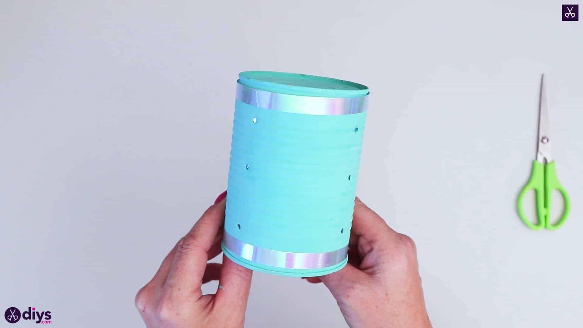 Tin can mood lamp0 display