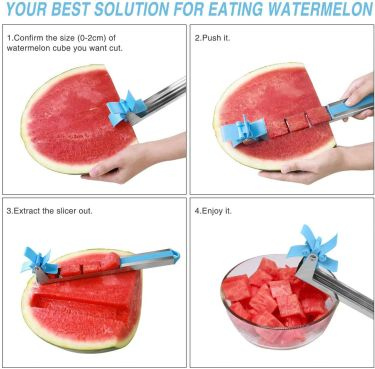 Watermelon slicer fruit knife