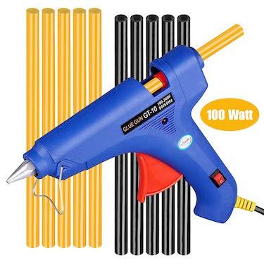 Winsall hot glue gun with coloured glue sticks