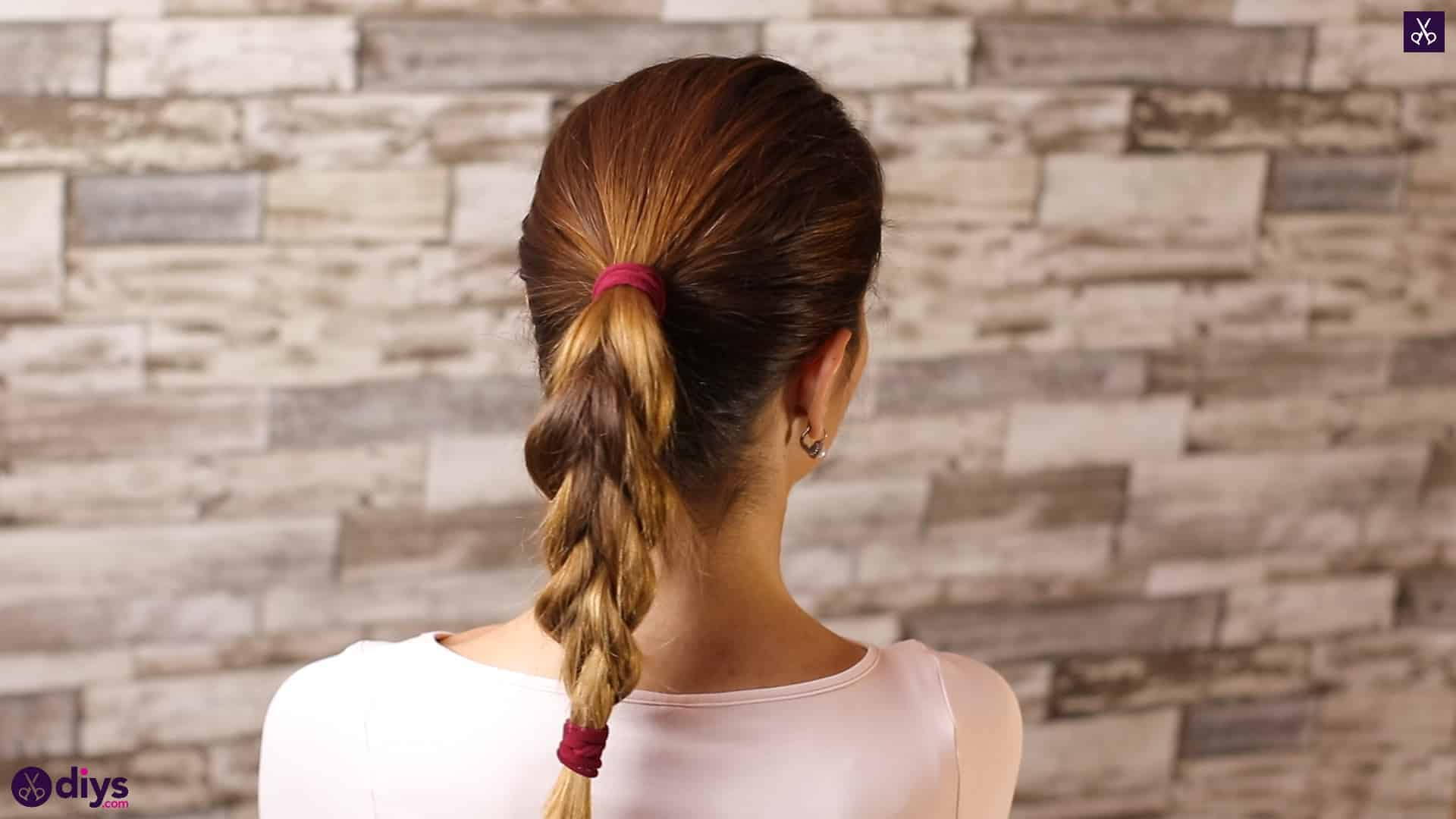 3 easy ponytails for everyday wear tutorial step bc