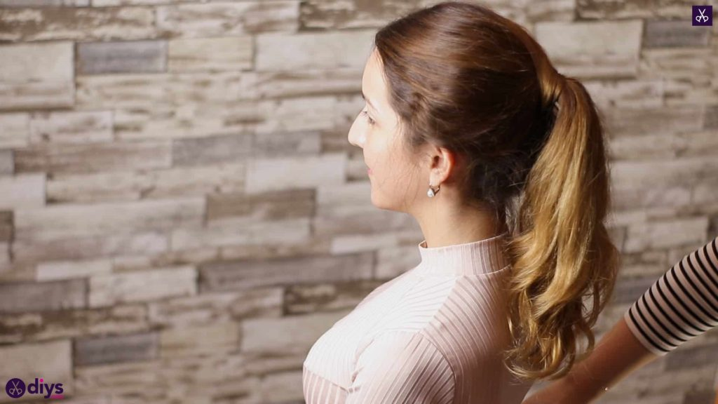3 easy ponytails for everyday wear wraparound pony