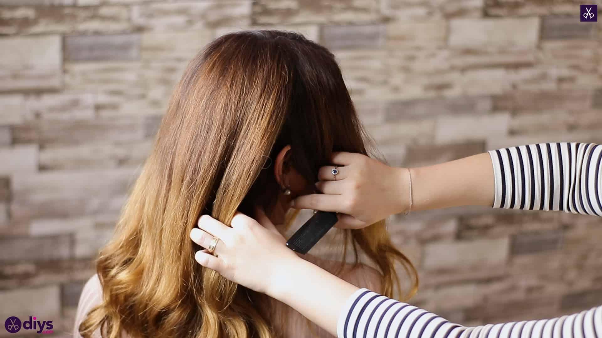 3 easy ponytails for everyday wear wraparound pony 1c