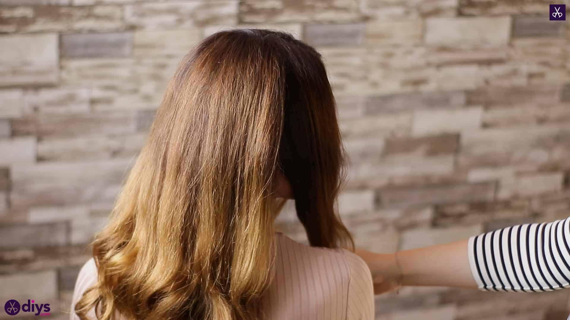3 easy ponytails for everyday wear wraparound pony 1d