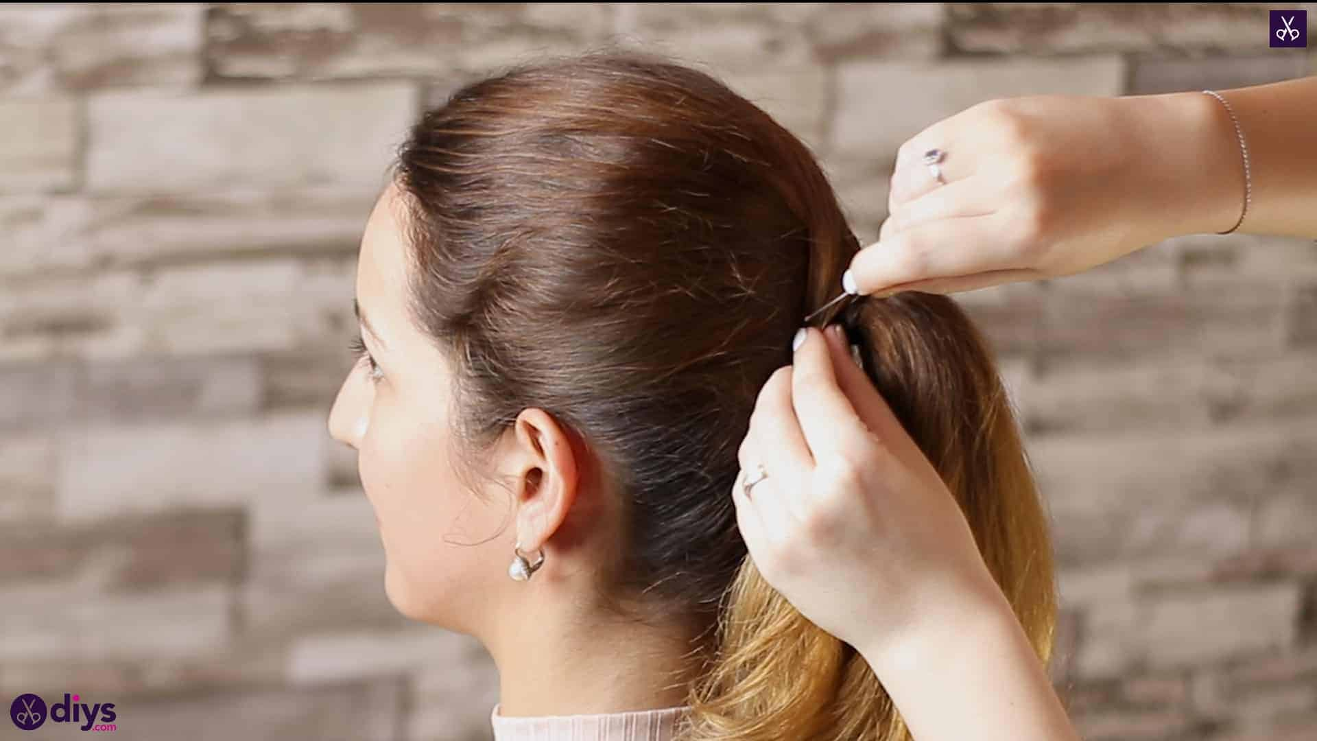 3 easy ponytails for everyday wear wraparound pony 4c