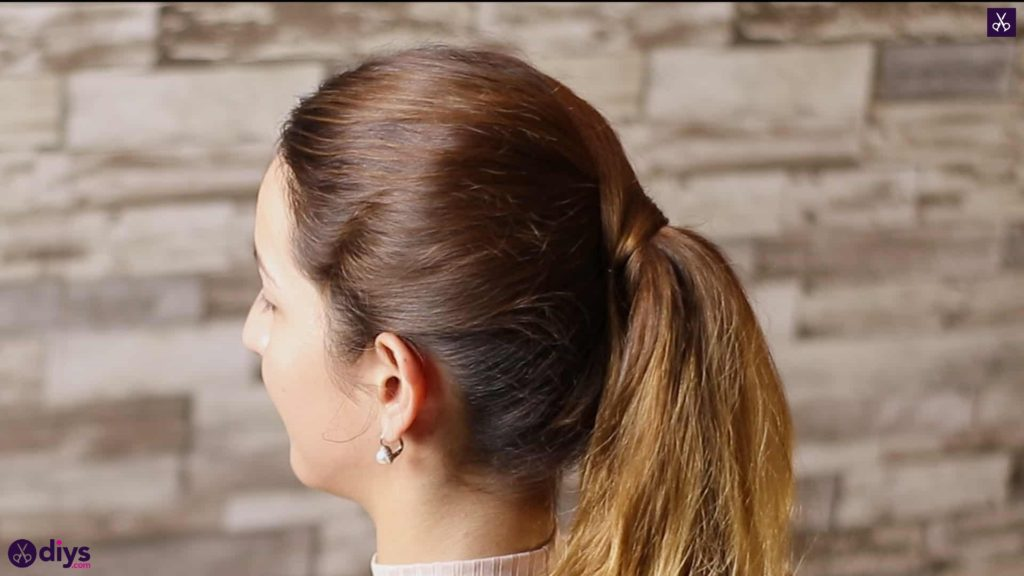 3 easy ponytails for everyday wear wraparound pony 5