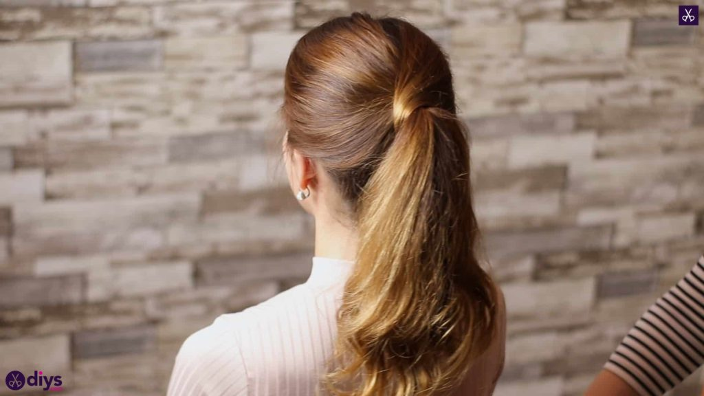 3 easy ponytails for everyday wear wraparound pony 5c