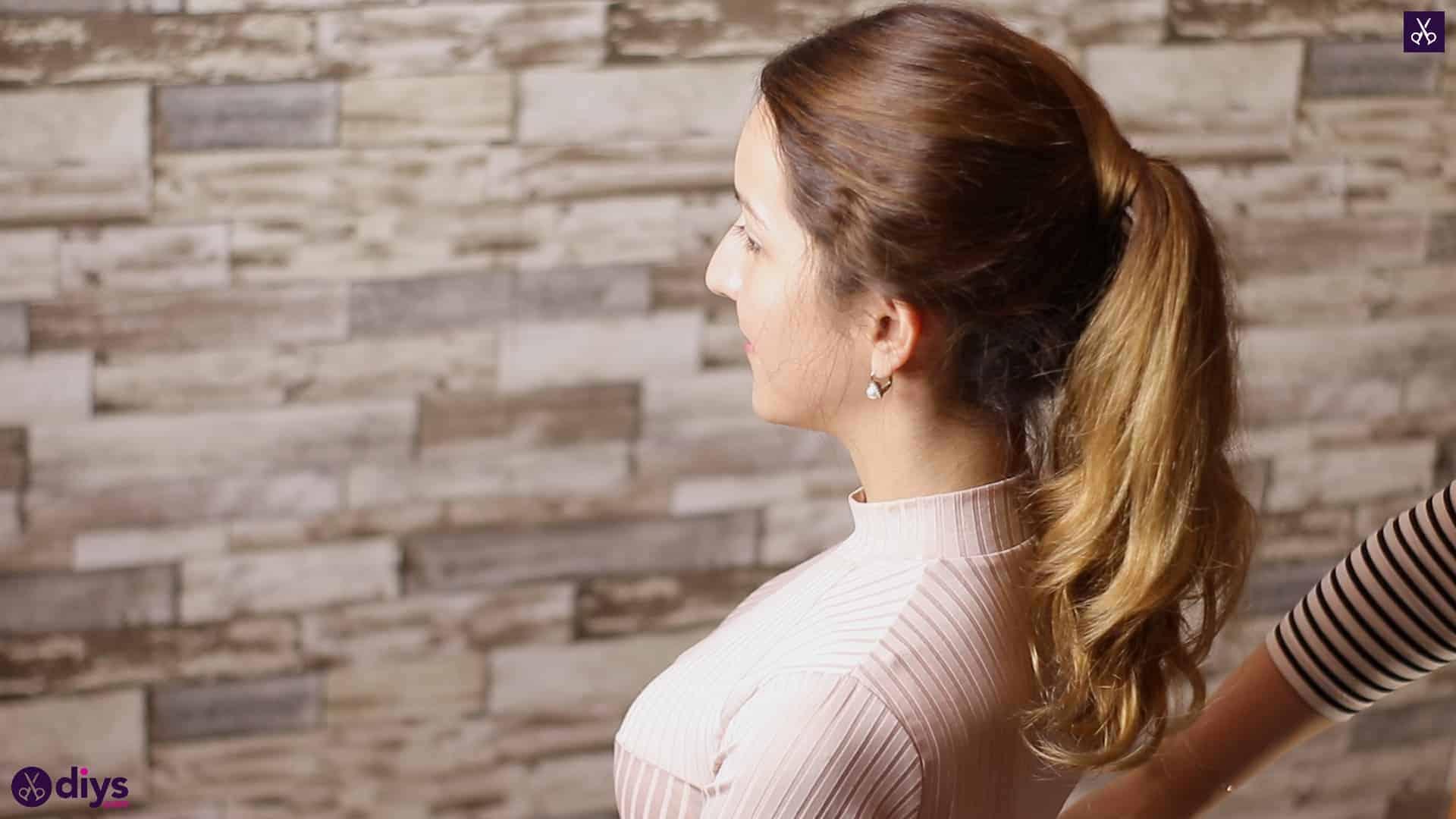 3 easy ponytails for everyday wear wraparound pony