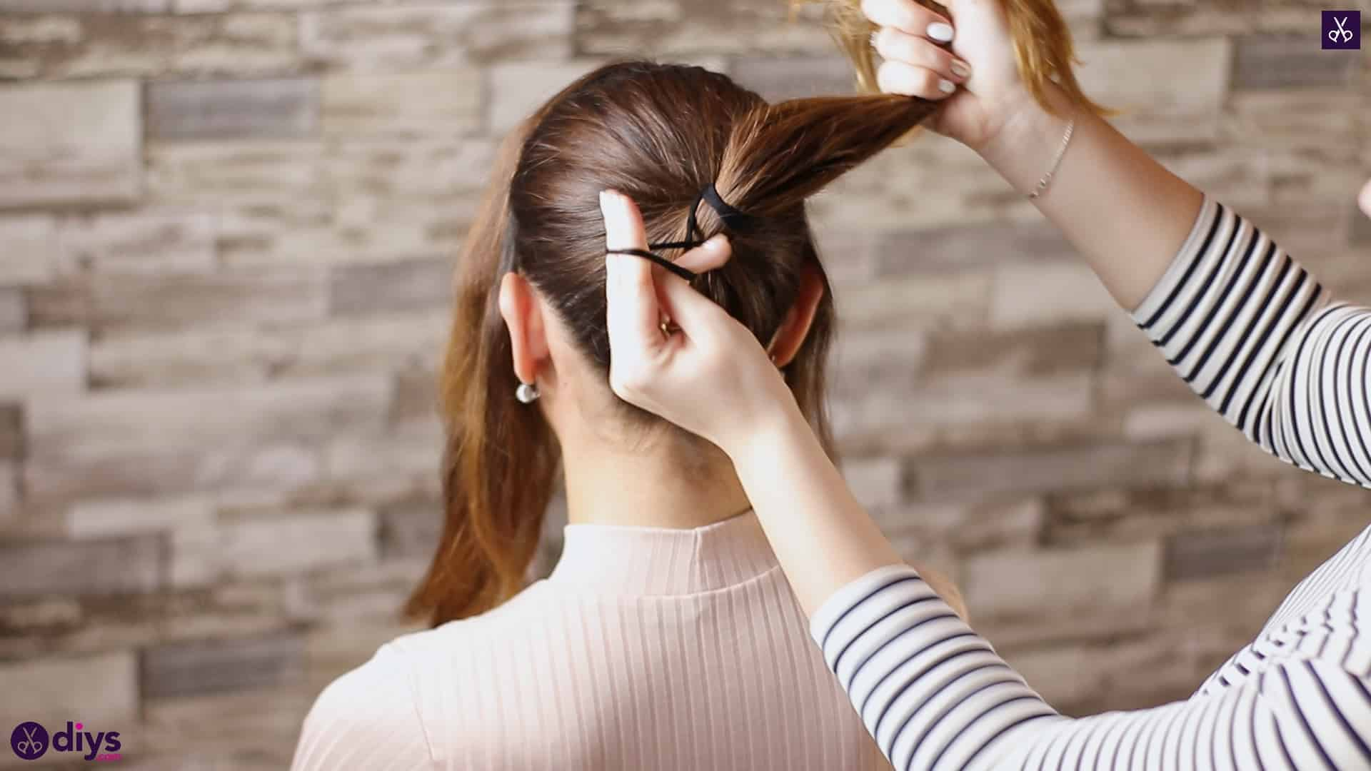 3 easy ponytails for everyday wear wraparound pony2b