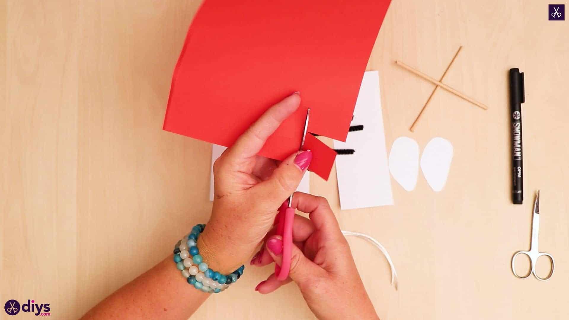 3d paper dog puppet step 6