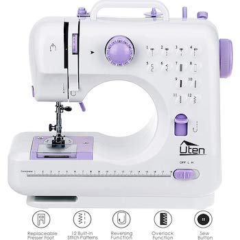 Agm portable sewing machine