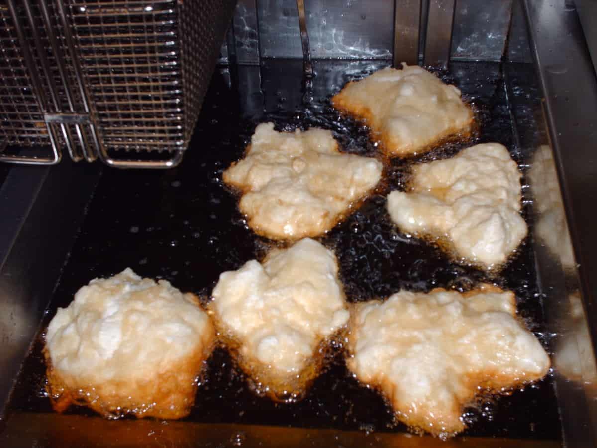 Bannock (bite sized fry bread)