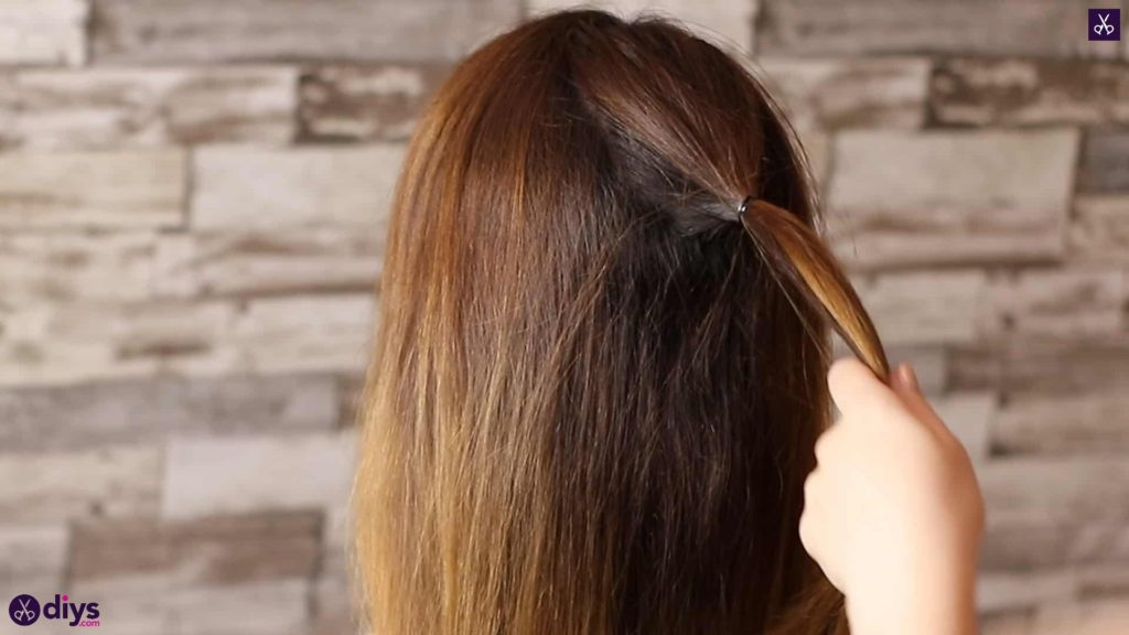 Beautiful and elegant hairstyle tutorial 10