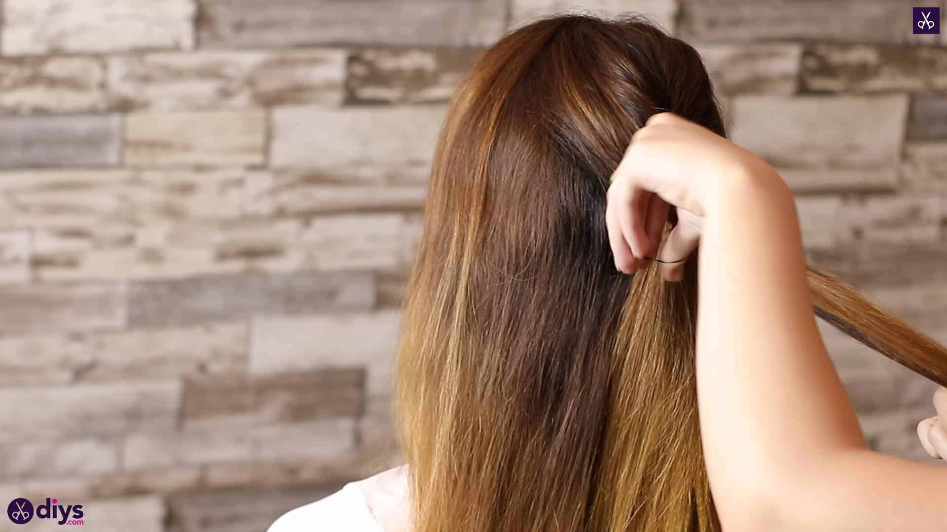 Beautiful and elegant hairstyle tutorial 14