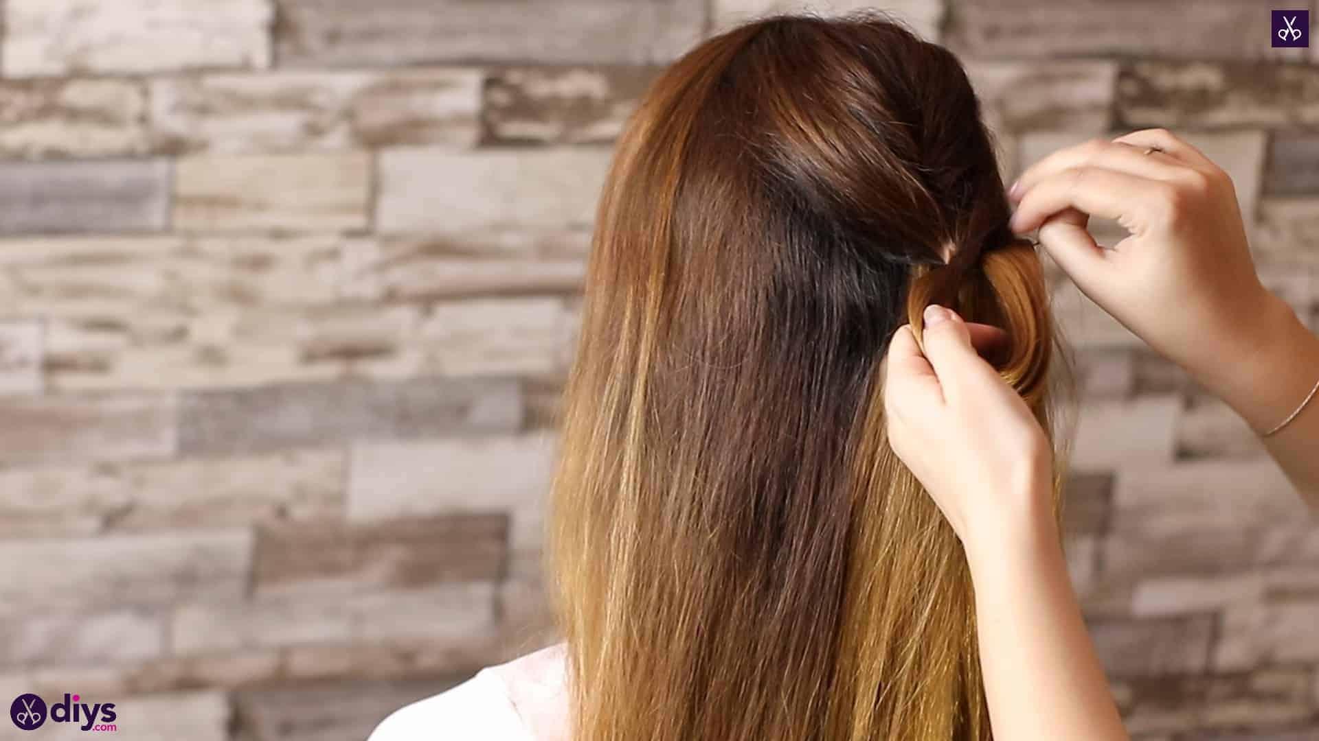 Beautiful and elegant hairstyle tutorial 16