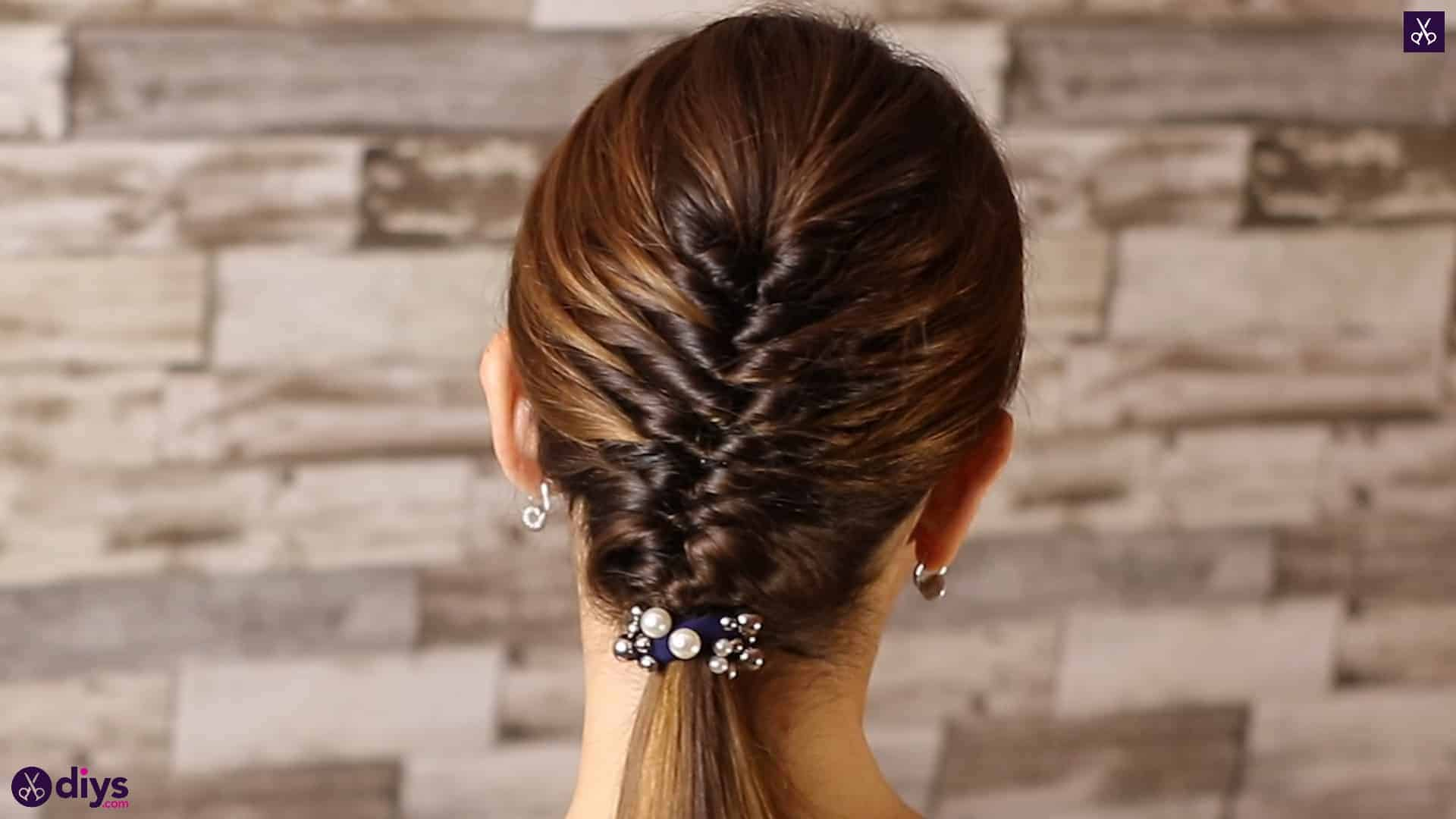Beautiful and elegant hairstyle tutorial 2