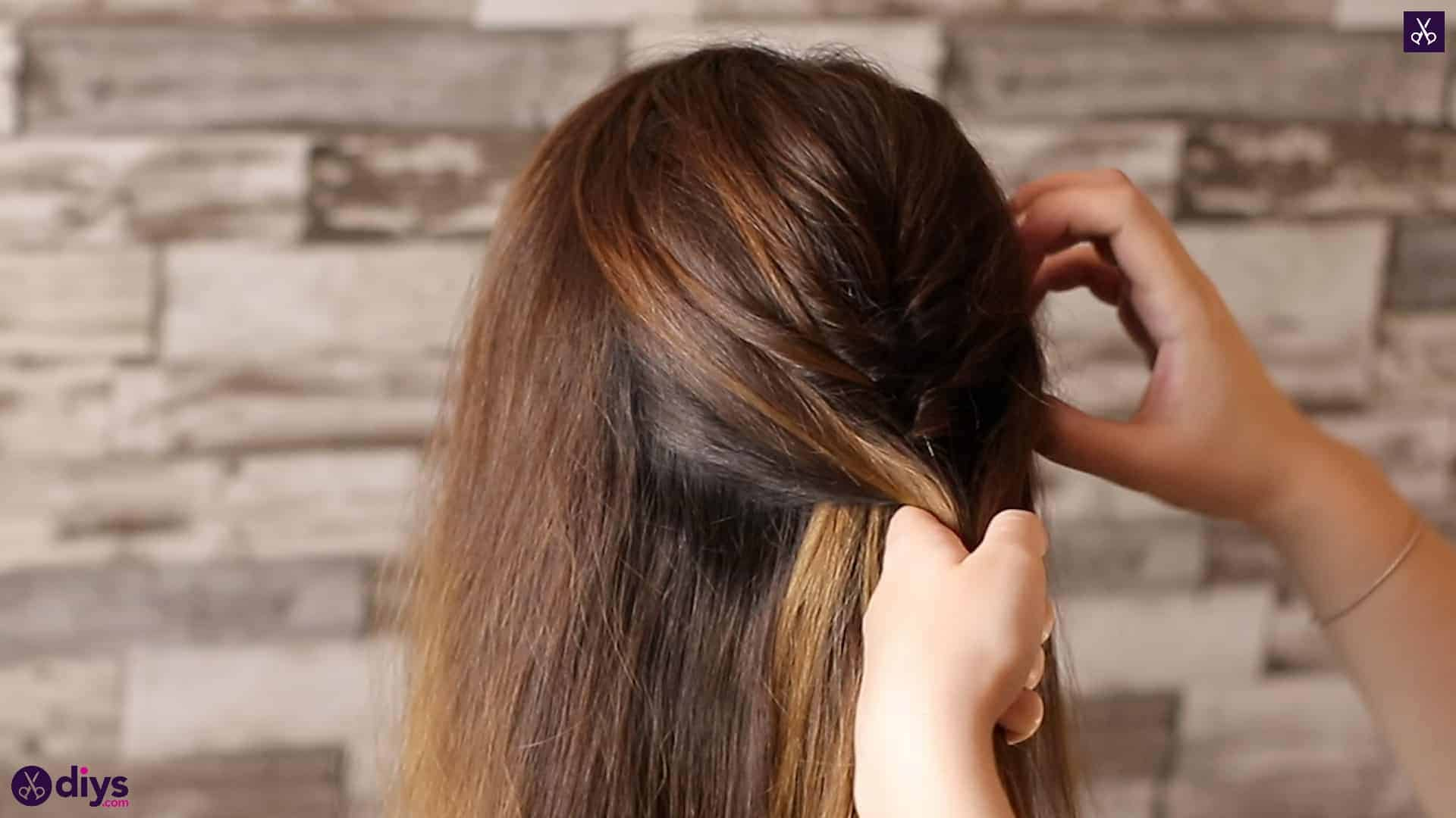 Beautiful and elegant hairstyle tutorial 23